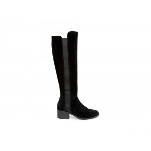 Clearance Sale - Steve Madden Women's Boots GISELLE Black Suede