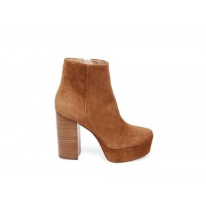 Christmas Deals 2019 - Steve Madden Women's Booties GRATIFY Cognac Suede
