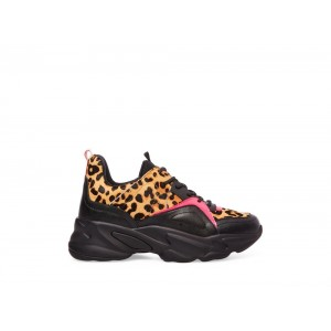 Steve Madden Women's Sneakers MOVEMENT LEOPARD Multi Black Friday 2020