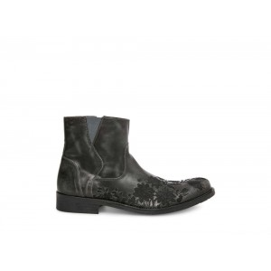 Clearance Sale - Steve Madden Men's Boots ZINNIA Black Leather
