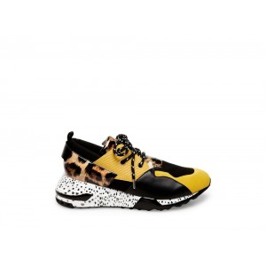 Clearance Sale - Steve Madden Men's Sneakers RIDGE Yellow Multi