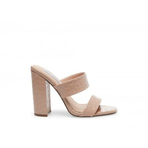 Clearance Sale - Steve Madden Women's Heels TAYA Tan CROCO