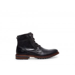 Clearance Sale - Steve Madden Men's Boots MILLENNIUM Black Leather