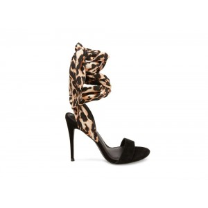 Steve Madden Women's Heels OASIS LEOPARD Multi Black Friday 2020
