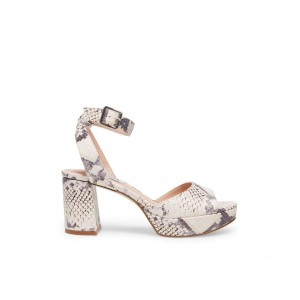 Clearance Sale - Steve Madden Women's Heels HAVEN BEIGE Snake