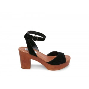 Clearance Sale - Steve Madden Women's Heels LONNIE Black Suede