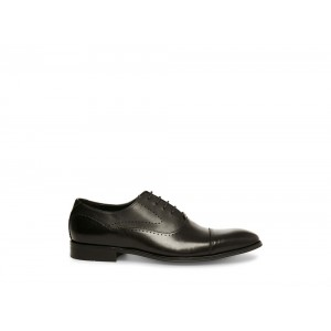 Clearance Sale - Steve Madden Men's Lace-up GEMELLI Black Leather