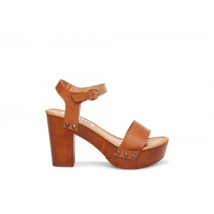 Clearance Sale - Steve Madden Women's Sandals LUNA Cognac