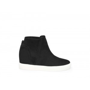 Steve Madden Women's Sneakers CHANLER Black NUBUCK