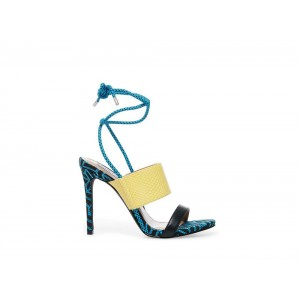 Clearance Sale - Steve Madden Women's Heels CLUB BLUE Multi