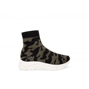 [ Black Friday 2019 ] Steve Madden Women's Sneakers BITTEN CAMOUFLAGE