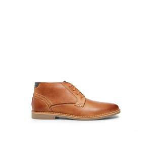 Clearance Sale - Steve Madden Men's Boots GADRICK Tan Leather