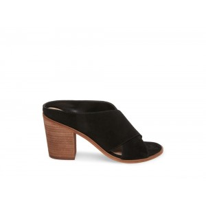 Clearance Sale - Steve Madden Women's Mules MINDEY Black Suede