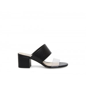 Clearance Sale - Steve Madden Women's Mules IRONY Black Snake