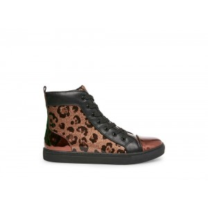 Steve Madden Men's Casual ZODIAC LEOPARD Black Friday 2020
