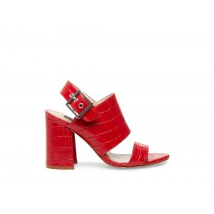 Clearance Sale - Steve Madden Women's Heels REMINGTON Red CROCODILE