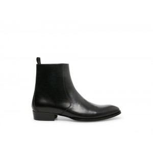 Clearance Sale - Steve Madden Men's Boots SANTOS Black Leather