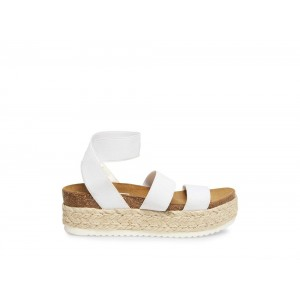 Clearance Sale - Steve Madden Women's Sandals KIMMIE WHITE