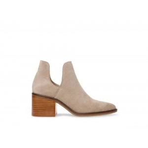 Clearance Sale - Steve Madden Women's Booties DURAN Taupe Suede