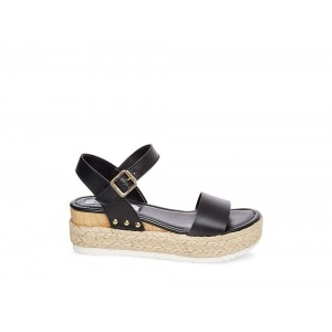 Clearance Sale - Steve Madden Women's Sandals CHIARA Black Leather