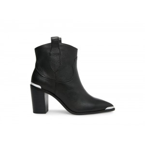 Steve Madden Women's Booties ZORA Black Leather