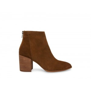 Steve Madden Women's Booties JAMESIE CHESTNUT Suede