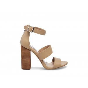 Clearance Sale - Steve Madden Women's Heels SUNLight NATURAL Leather