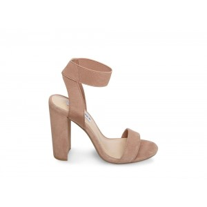 Clearance Sale - Steve Madden Women's Heels CELEBRATE Tan Suede