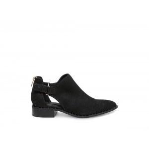 Steve Madden Women's Booties CUSP Black NUBUCK