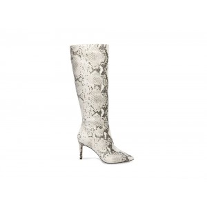 Christmas Deals 2019 - Steve Madden Women's Boots KINGA NATURAL Snake