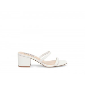 Clearance Sale - Steve Madden Women's Sandals ISSY WHITE
