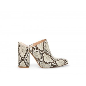 Clearance Sale - Steve Madden Women's Heels DITTY Black/WHITE Snake