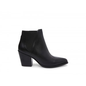 Clearance Sale - Steve Madden Women's Booties PATROL Black Leather