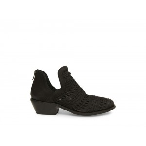 Clearance Sale - Steve Madden Women's Booties TIA Black NUBUCK