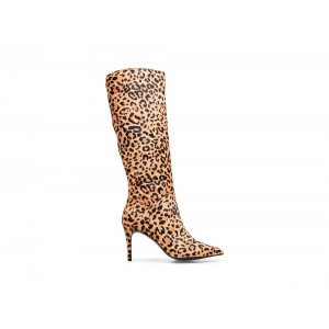 Steve Madden Women's Boots KINGA-L LEOPARD Black Friday 2020