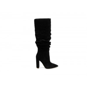 Clearance Sale - Steve Madden Women's Boots SWAGGER Black Suede