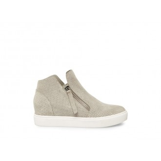 Clearance Sale - Steve Madden Women's Sneakers CALIBER Grey Suede
