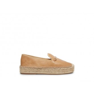 Clearance Sale - Steve Madden Women's Flats ELLAINE NATURAL Leather