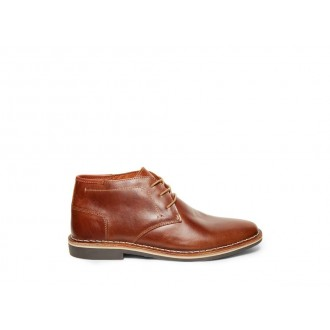 Clearance Sale - Steve Madden Men's Boots HARKEN Cognac Leather