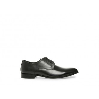 Clearance Sale - Steve Madden Men's Lace-up PREY Black Leather