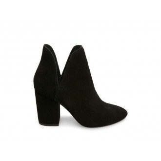 Clearance Sale - Steve Madden Women's Booties ROOKIE Black Suede