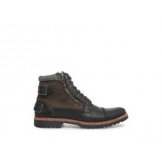 Clearance Sale - Steve Madden Men's Boots WELCOME Black Leather