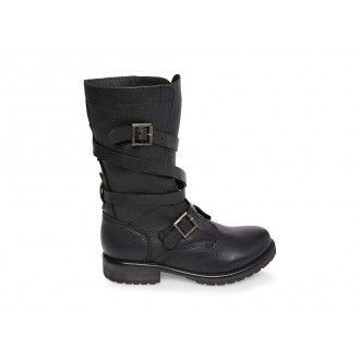 Clearance Sale - Steve Madden Women's Boots BANDDIT Black Leather