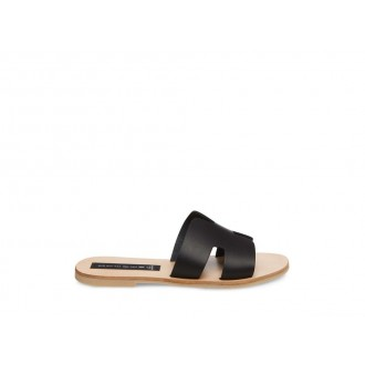 Clearance Sale - Steve Madden Women's Sandals GREECE Black Leather