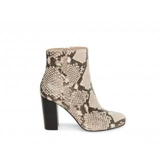Clearance Sale - Steve Madden Women's Booties PIXIE NATURAL Snake