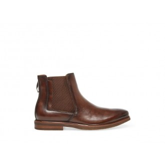 Clearance Sale - Steve Madden Men's Boots INFORMOR Brown Leather