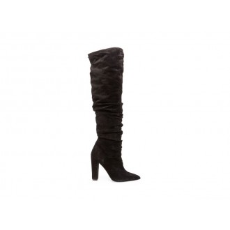 Clearance Sale - Steve Madden Women's Boots ELISA Black Suede