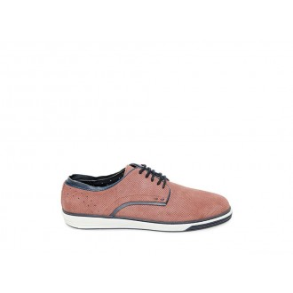 Clearance Sale - Steve Madden Men's Lace-up BARBERRY Rose Suede