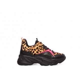 Clearance Sale - Steve Madden Women's Sneakers MOVEMENT LEOPARD Multi