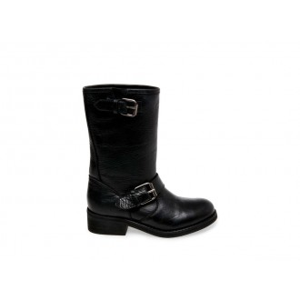 Christmas Deals 2019 - Steve Madden Women's Boots LENORA Black Leather